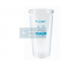 FLOVAC® Collection Jar for Disposable Liners System (1L)