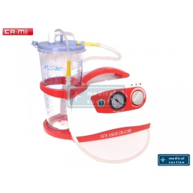 Portable Suction Unit Askir230 with FLOVAC® Disposable Liners 2L
