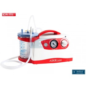 Portable Suction Unit Askir36 BR with FLOVAC® Disposable Liners