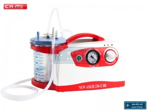 Portable Suction Unit Askir230 12V with FLOVAC® Disposable Liners