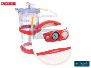 Portable Suction Unit Askir36 BR with FLOVAC® Disposable Liners 2L